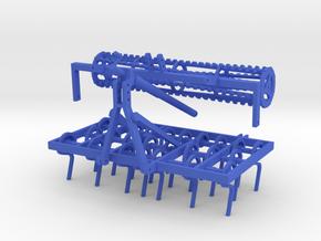 Federzinkengrubber 1:32 in Blue Processed Versatile Plastic