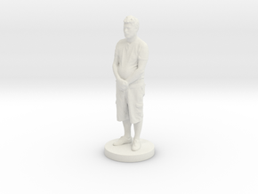 Printle C Homme 161 - 1/24 in White Natural Versatile Plastic