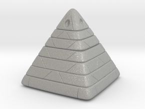 Pyramide Enlighted in Aluminum
