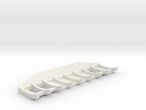 1/50 Cat D8 Angle Rake in White Natural Versatile Plastic