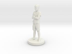 Printle Classic Kid 023 - 1/24 in White Natural Versatile Plastic
