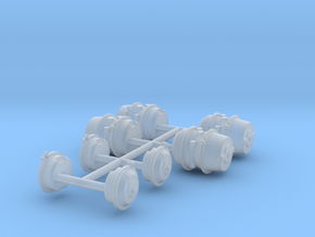 1/35 HEMTT Brake Cylinders MSP35-027 in Smoothest Fine Detail Plastic