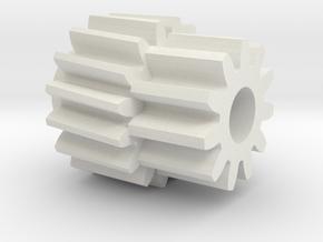 Third Gen Firebird Odometer 86-92 140mph Gear in White Natural Versatile Plastic