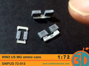 WW2 US MG Ammo Cans 1/72 scale SWFUD 72-013 in Smooth Fine Detail Plastic