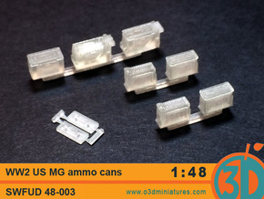 WW2 US MG Ammo Cans 1/48 scale SWFUD 48-003 in Frosted Ultra Detail