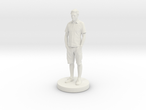 Printle Classic Homme 104 - 1/24 in White Natural Versatile Plastic
