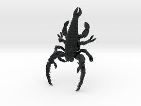 Megalograptus in Black Hi-Def Acrylate