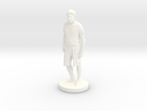 Printle C Homme 107 - 1/24 in White Strong & Flexible