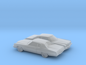 1/160 2X 1973 Chevrolet Impala Custom Coupe in Frosted Ultra Detail