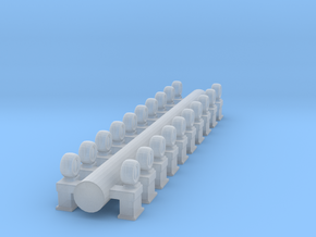 1/72 Ammo Locker Screws in Smooth Fine Detail Plastic