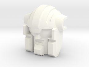 Fortis replacement head OS Feral Rex in White Processed Versatile Plastic