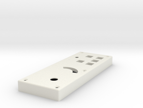 Apollo - RCU - Box Lid in White Natural Versatile Plastic