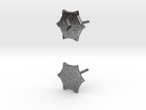 Snowflake in Polished Silver: Medium