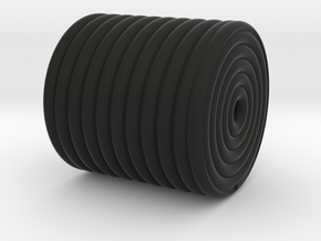 Tile Roll in Black Natural Versatile Plastic