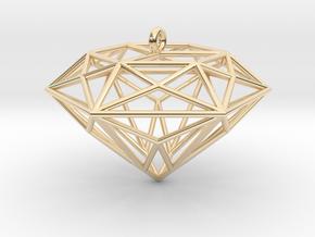 Diamond Ornament in 14K Yellow Gold