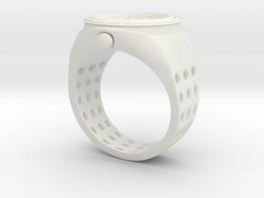 Watch Rings in White Natural Versatile Plastic: 7 / 54