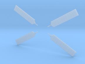 Orion Service Module Solar Panels 1:144 in Smoothest Fine Detail Plastic
