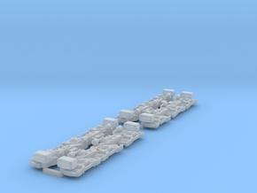 sideframes Flexicoil trucks G26c 1:87 in Smooth Fine Detail Plastic