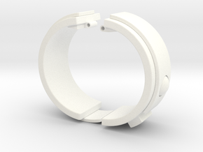 Blake's 7 Teleport Bracelet Series 1 in White Processed Versatile Plastic