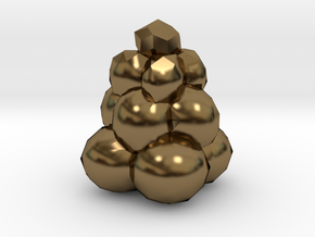 Power Grid Coal Piles - One Pile in Polished Bronze