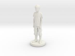 Printle C Kid 028 - 1/24 in White Natural Versatile Plastic