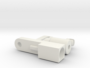 Apollo RCU-Release Pull in White Natural Versatile Plastic
