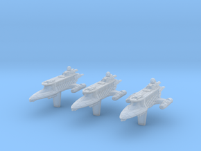 "(Armada) 3x SoroSuub Yacht 3000 ""Lady Luck"" in Smoothest Fine Detail Plastic"