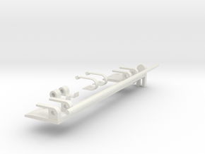 Apollo RCU- Mount Mechanism in White Natural Versatile Plastic