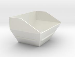 Z 050 Vögele Kontainer WSI 1:50 in White Natural Versatile Plastic: 1:50