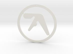 Aphex Twin Ornament in White Natural Versatile Plastic