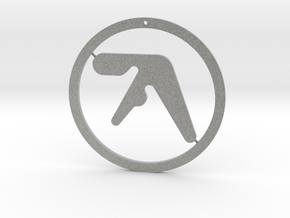 Aphex Twin Ornament in Metallic Plastic