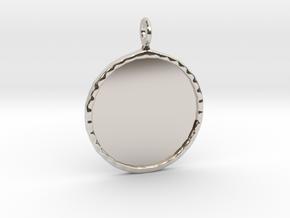 Mirror Charm in Platinum