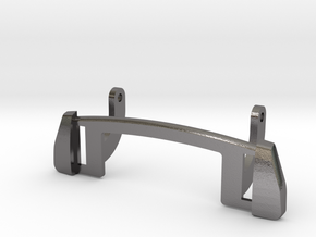 1972 FJ55 Tailgate Handle Base in Polished Nickel Steel
