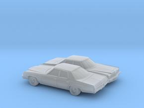 1/160 2X 1973 Chevrolet Impala Sedan in Frosted Ultra Detail