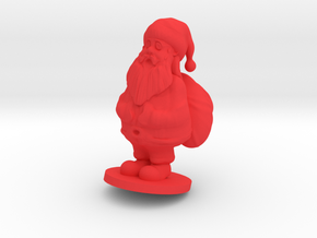 Santa claus in Red Strong & Flexible Polished