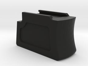 Hammerli 208 / 208s Magazine Base Standard size in Black Natural Versatile Plastic