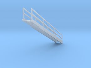 'N Scale' - 48 Ft. Dia. Bin - Top Stairway in Smooth Fine Detail Plastic
