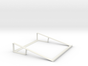 "Macbook 13""-15"" Stand in White Strong & Flexible"