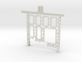 OviM11 - Modular city house N°2 in White Natural Versatile Plastic