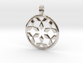 EMPTY SPACES in Rhodium Plated Brass