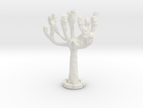 NNA04 Tree in White Natural Versatile Plastic