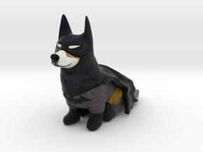 Bruce Wayne The Corgi Knight in Full Color Sandstone