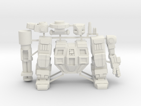 Goliath on Sprue in White Natural Versatile Plastic