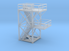 'N Scale' -10'x10'x20' Tower Top With Platform for in Frosted Ultra Detail