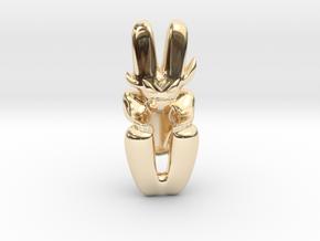 Artifact 5 in 14K Yellow Gold