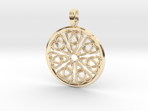 SOLAR ICE QUEEN in 14K Yellow Gold