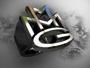 Maybach Music Group Ring in 14k Gold Plated
