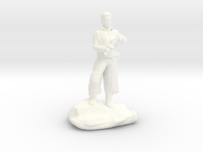 Human Rogue  With Dagger in White Processed Versatile Plastic