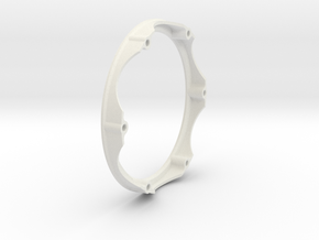 Center Ring for 2015 Disc in White Natural Versatile Plastic