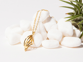 Leaf Necklace in 14k Gold Plated